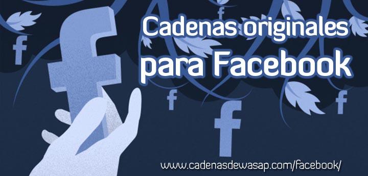 Cadenas para Facebook