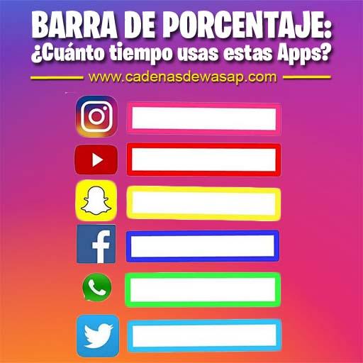 Cadena Publicacion instagram - cuanto tiempo usas las apps