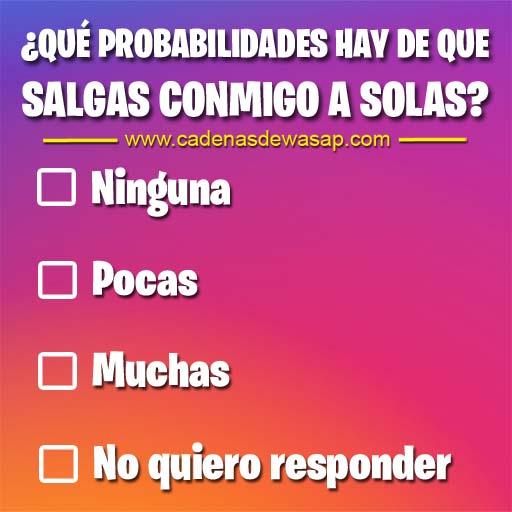 Cadena Publicacion instagram - Probabilidades