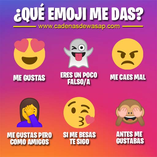 Cadena Publicacion instagram - que emoji me das
