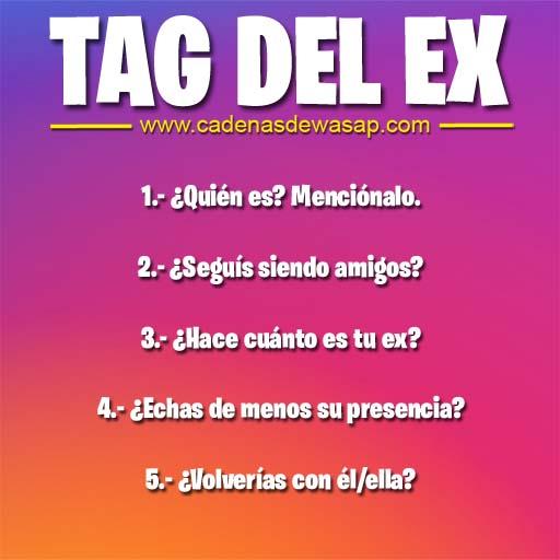 Cadena Publicacion instagram - tag del ex